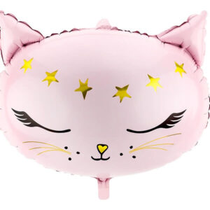 grote-roze-folieballon-poes-kat